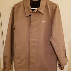Mens small Obey trench coat